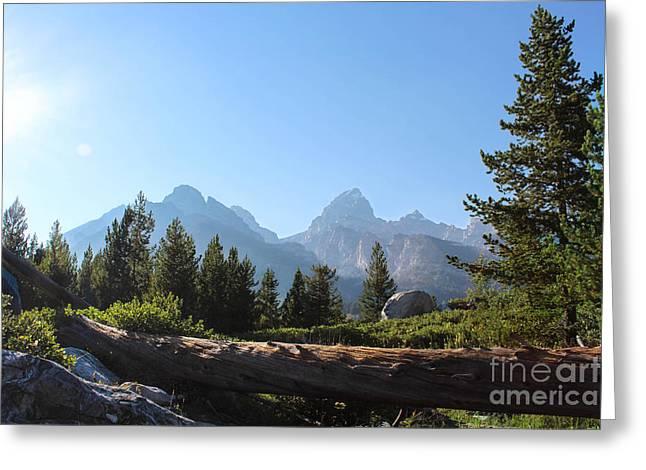 Grand Teton Mountains II Greeting Card by Kathleen Garman