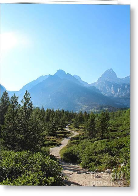 Grand Teton Mountains IIi Greeting Card by Kathleen Garman