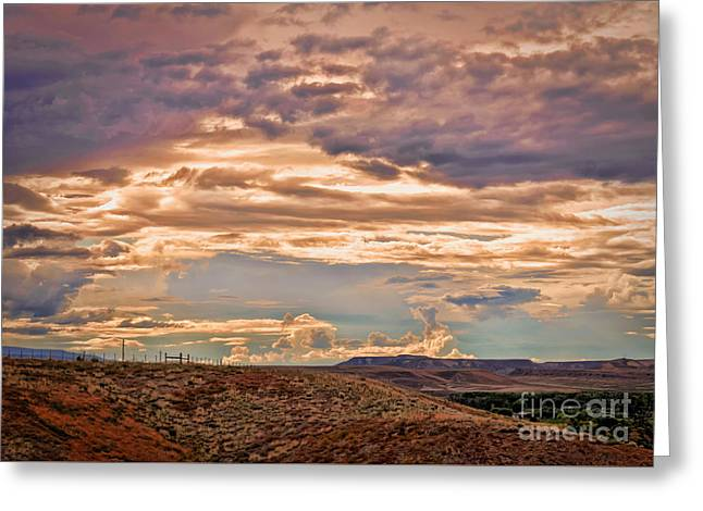 Geology Photographs Greeting Cards - Grand Valley Vista Greeting Card by Janice Rae Pariza