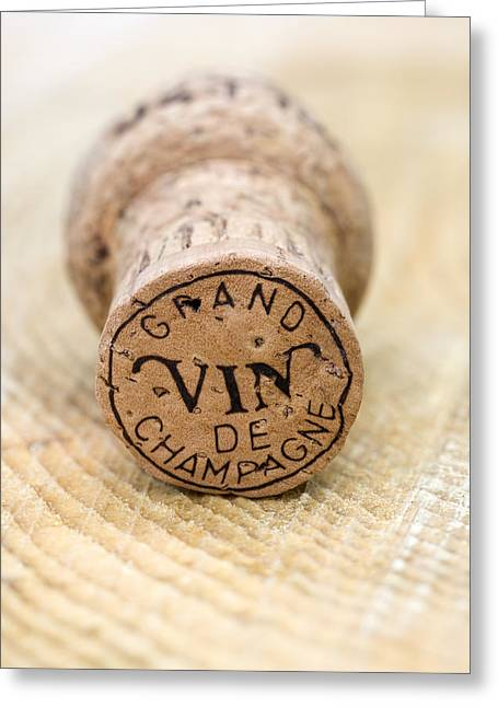 Vin Greeting Cards - Grand vin de Champagne Greeting Card by Frank Tschakert
