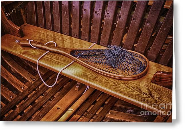 Canoe Greeting Cards - Grandpas Treasure Greeting Card by Joe Geraci