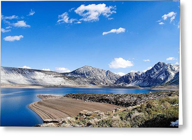 Grant Lake Greeting Card by Maria Jansson