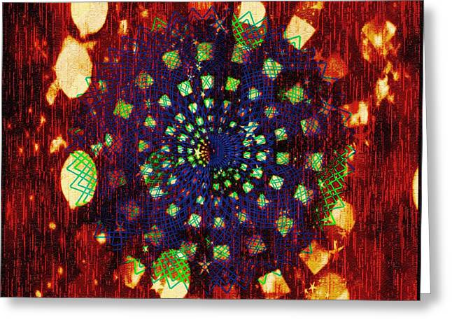 Color Enhanced Greeting Cards - Graphics In Motion Greeting Card by Caroline Gilmore