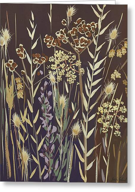Samsung Greeting Cards - Grasses Greeting Card by Sarah Gillard