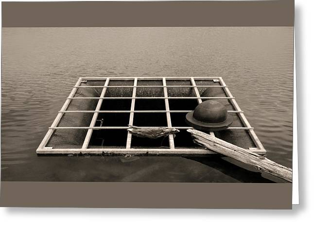Grate Art Greeting Card by Don Spenner