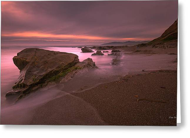 Cambria Greeting Cards - Gray Light Greeting Card by Tim Bryan