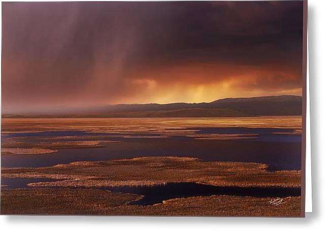 Grays Lake Splendor Greeting Card by Leland D Howard