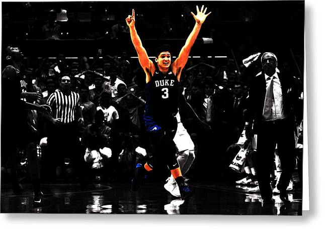 Grayson Allen Greeting Card by Brian Reaves