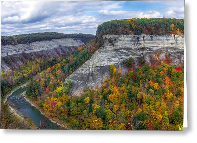 Great Bend Overlook Greeting Card by Mark Papke