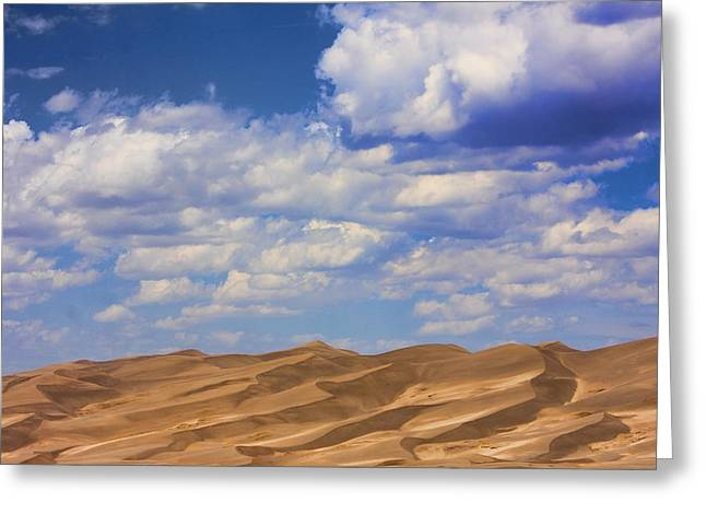"""commercial Photography Art Prints"" Greeting Cards - Great Colorado Sand Dunes Mixed View Greeting Card by James BO  Insogna"