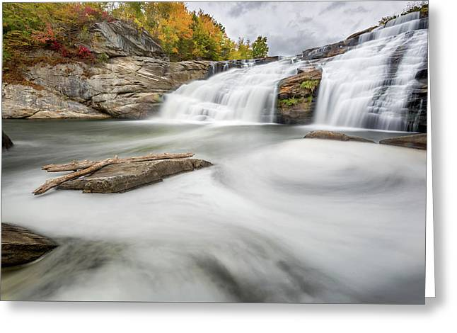 Great Falls Greeting Card by Bill Wakeley