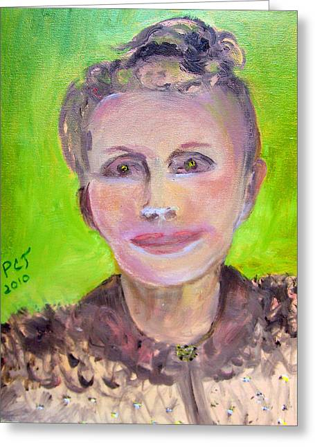Patricia Taylor Greeting Cards - Great Grandmother Adora Greeting Card by Patricia Taylor