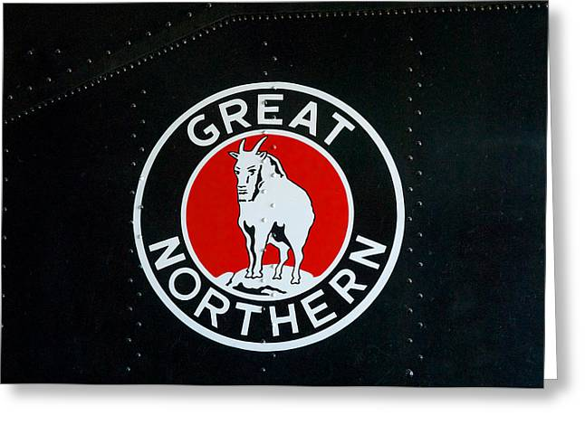 20th Greeting Cards - Great Northern Logo Greeting Card by Todd and candice Dailey
