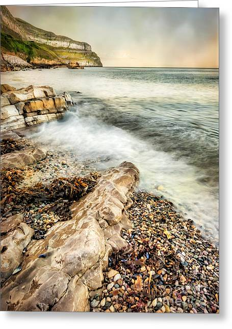 Great Orme Coast Greeting Card by Adrian Evans