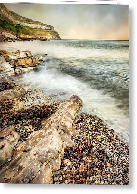 Llandudno Greeting Cards - Great Orme Coast Greeting Card by Adrian Evans