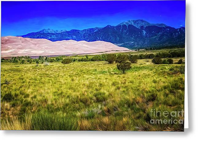 Great Sand Dunes Greeting Card by Jon Burch Photography