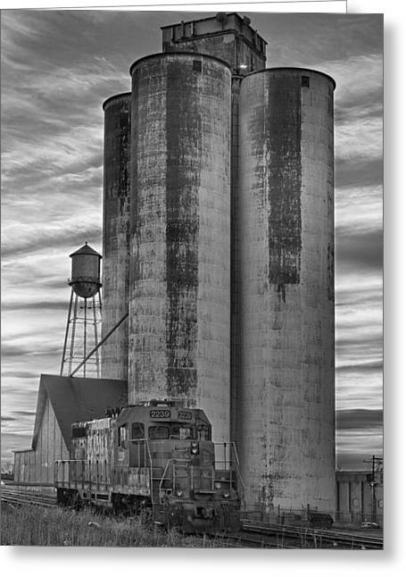 """landscape Photography Prints"" Greeting Cards - Great Western Sugar Mill Longmont Colorado BW Greeting Card by James BO  Insogna"