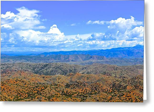Mountain Road Greeting Cards - Great Western Trail 3 Greeting Card by FlyingFish Foto