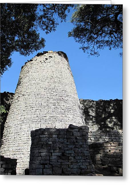 African Heritage Greeting Cards - Great Zimbabwe Greeting Card by Charles Ray