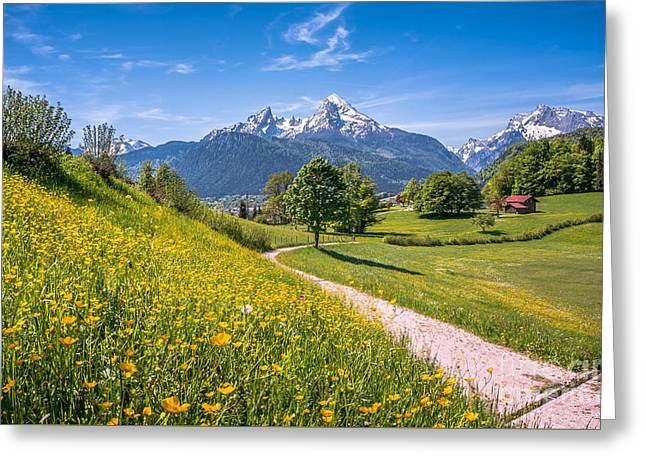 Greatest Happiness Principle Greeting Card by JR Photography
