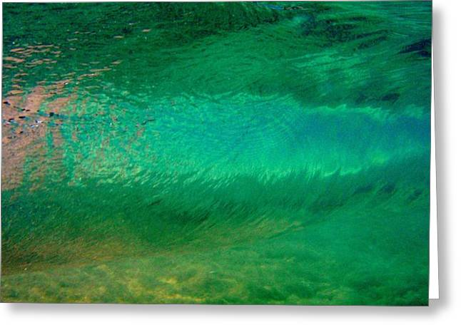 Green Awakening Greeting Card by Brad Scott