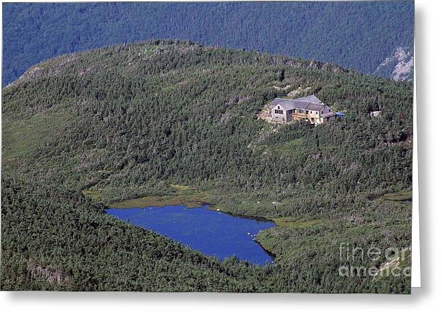Mountain Cabin Greeting Cards - Greenleaf Hut - White Mountains New Hampshire  Greeting Card by Erin Paul Donovan