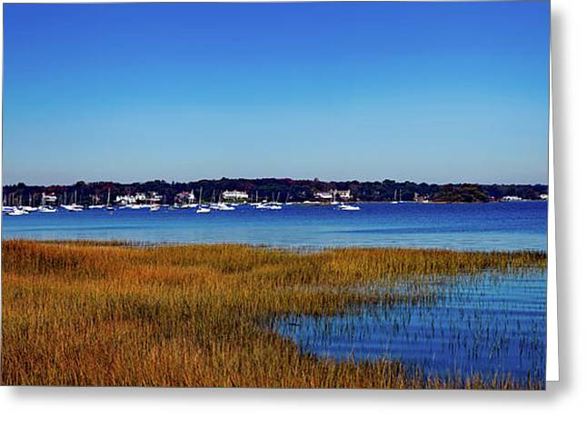 Greenwich Point Connecticut Greeting Card by Mountain Dreams