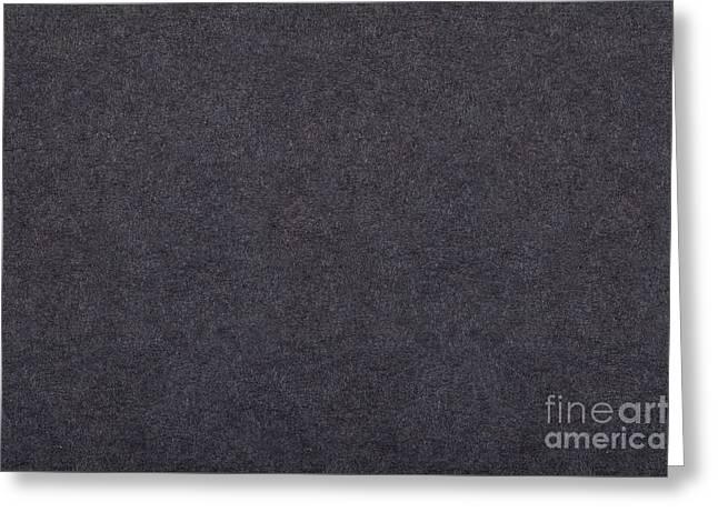 Grey Flat Cardboard Texture Greeting Card by Arletta Cwalina