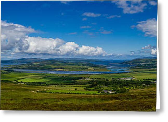 Historic Site Greeting Cards - Grianan Alligh Vista Greeting Card by Shawn Hudson