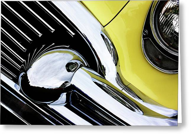Buick Greeting Cards - Grill Me Greeting Card by Rebecca Cozart