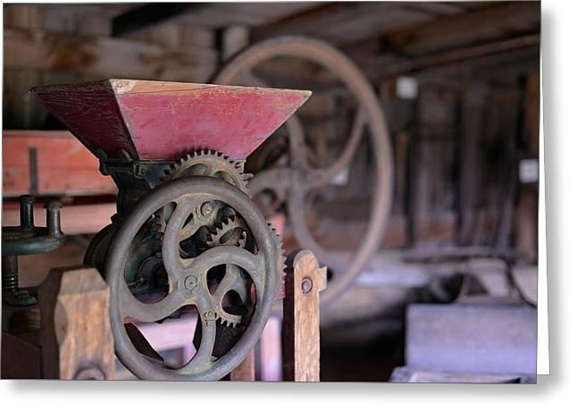 Old Grinders Digital Greeting Cards - Grind Away  Greeting Card by Jason Davies
