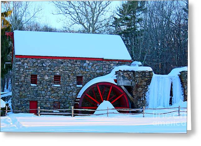 Griss Greeting Cards - Griss Mill Greeting Card by James F Towne