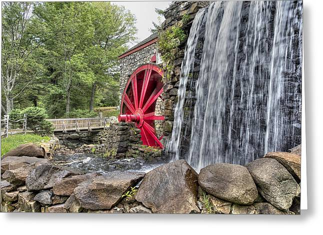 Grist For The Mill Greeting Card by John Hoey