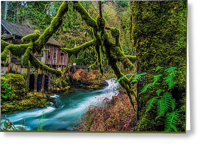 Grist Mill Greeting Cards - Grist Mill  Greeting Card by James Case