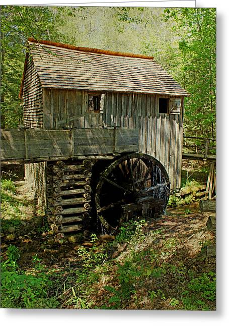 Grist Mill Greeting Cards - Grist Mill Greeting Card by Sandy Keeton
