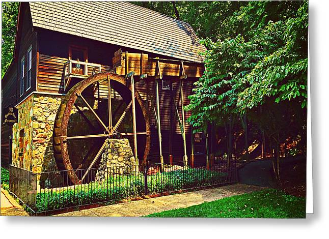 Grist Mill Greeting Cards - Gristmill - Charlottesville Virginia Greeting Card by Judy Palkimas