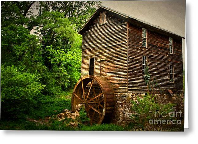 Dave Bosse Greeting Cards - Gristmill  Greeting Card by Dave Bosse