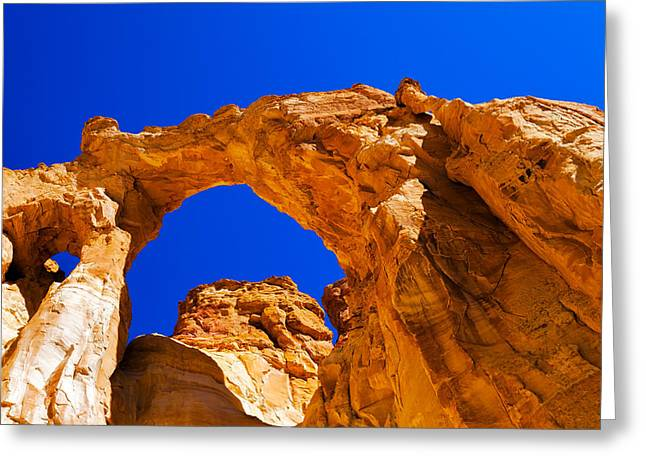 Grosvenor Arch Greeting Card by Chad Dutson