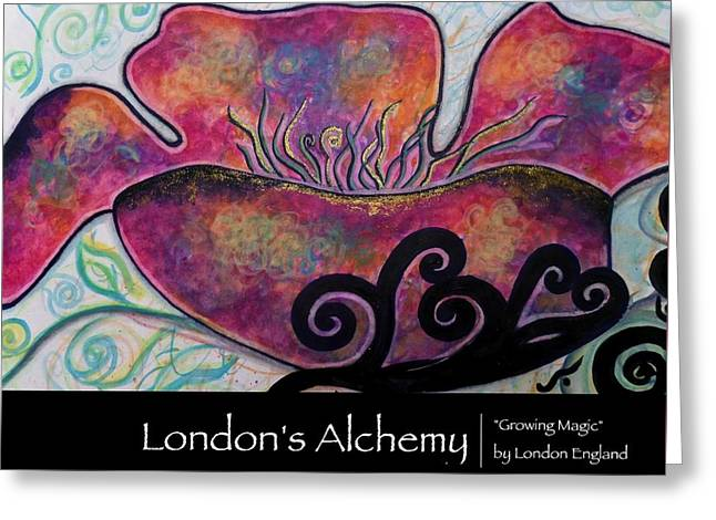 London England Greeting Cards - Growing Magic Greeting Card by London England