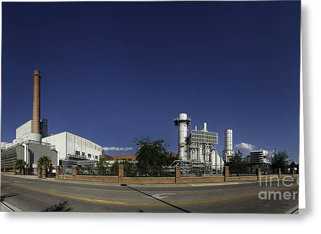 Gainesville Greeting Cards - GRU - Conventional Panorama Greeting Card by Warren Sarle