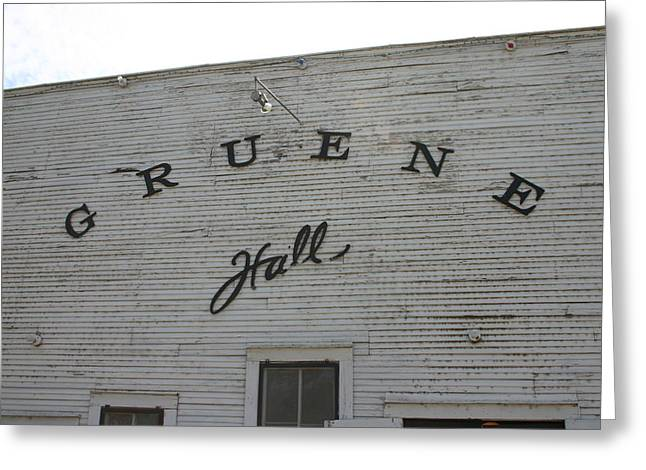 Gruene Greeting Card by Ginna Kincaide