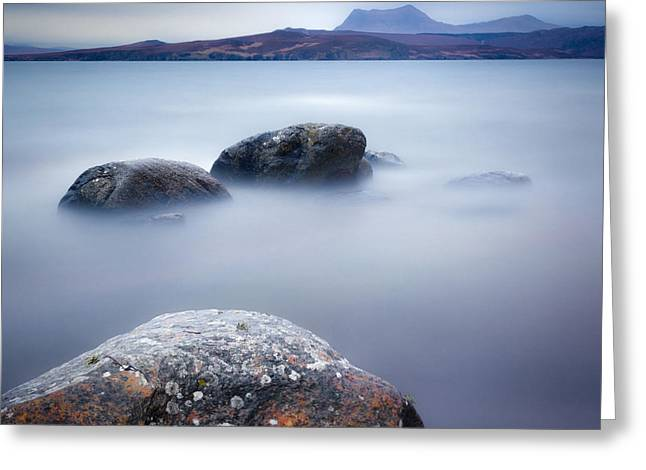 Scenic Greeting Cards - Gruinard Bay Greeting Card by Dave Bowman