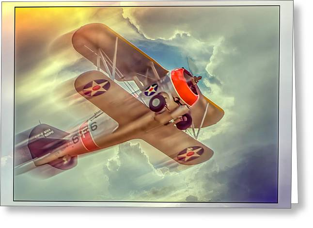 F3f Greeting Cards - Grumman F3F Hell Diver Greeting Card by Steve Benefiel
