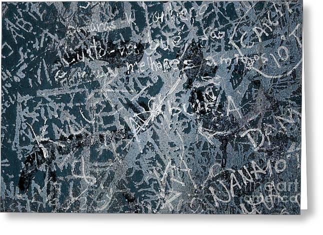 Grunge Background I Greeting Card by Carlos Caetano