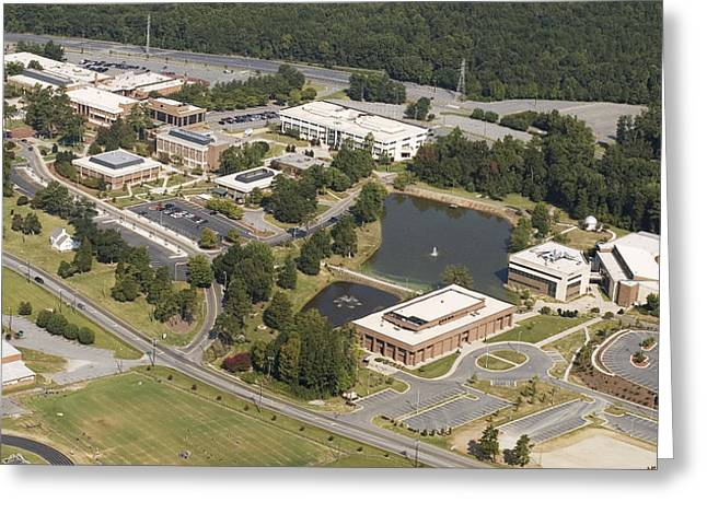 Technical Photographs Greeting Cards - GTCC Guilford Tech. Greeting Card by Robert Ponzoni
