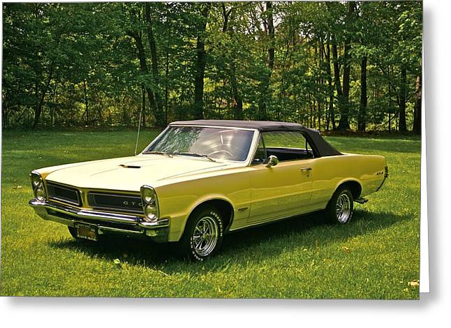 Automobile Artwork. Greeting Cards - Gto-2 Greeting Card by Robert Pearson