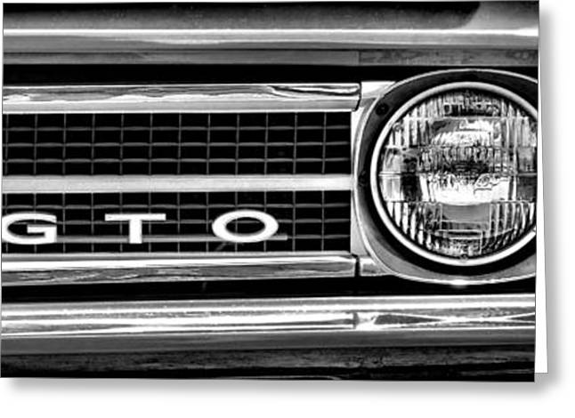 Car Insignia Greeting Cards - Gto Greeting Card by Olivier Le Queinec