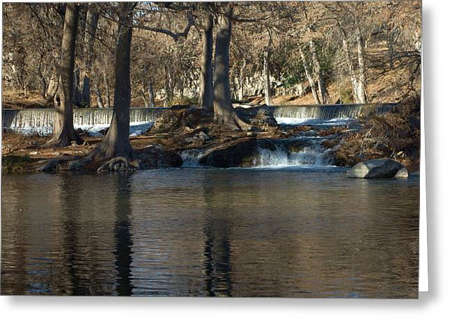 Guadalupe Overflows Greeting Card by Karen Musick