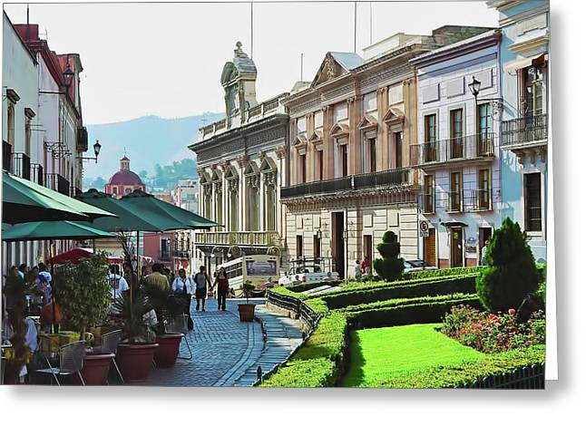 Mexico City Digital Greeting Cards - Guanajuato Greeting Card by Valencia Photography