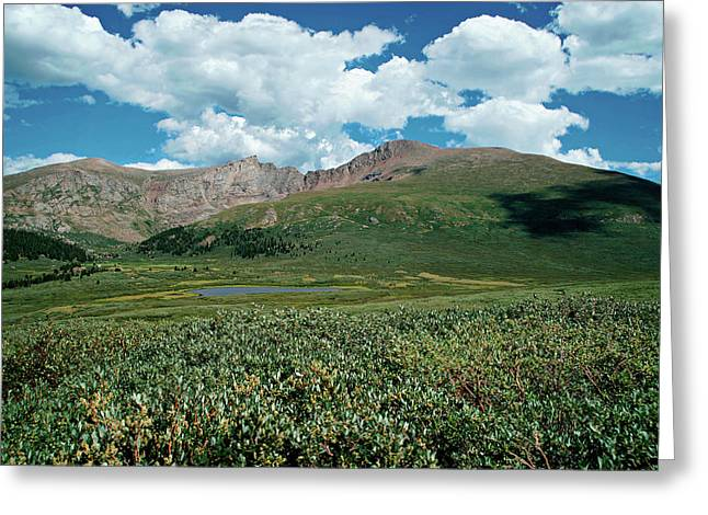 Guanella Pass Mt Bierstadt Greeting Card by Michael Kirsh